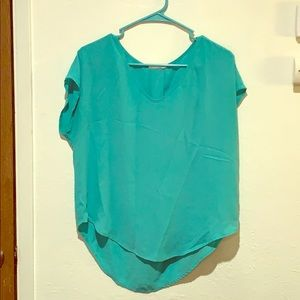 Teal professional top
